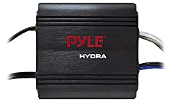 cheap Pyle 2-Channel Marine Amplifier Receiver – Waterproof and Weatherproof Boat Audio Subwoofer…