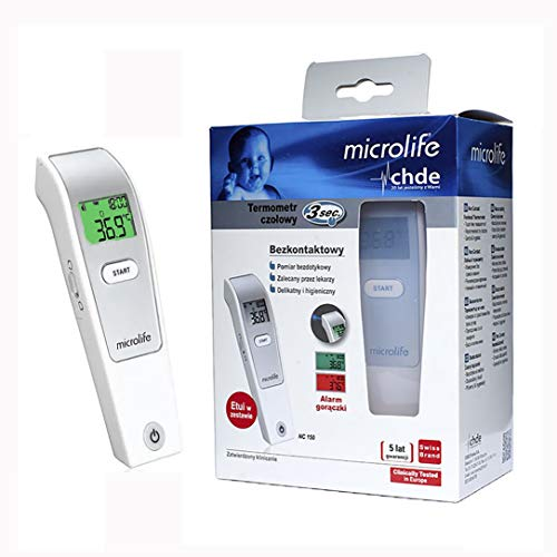 Microlife No Touch Forehead Thermometer CE NC150, Best Thermometer in Swiss 2020