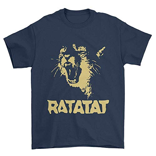 Men's Ratatat Wildcat Cool T-Shirt,Navy,XX-Large