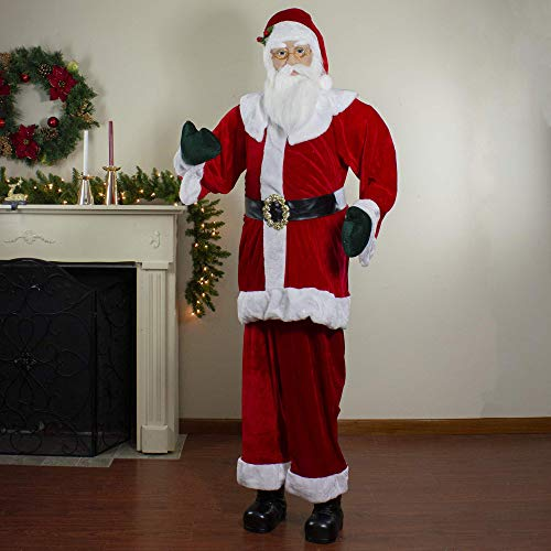 Northlight Santa Claus Figures, Red