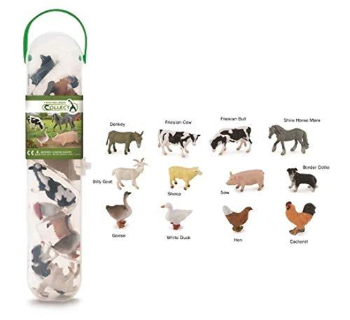Collecta - Box De Animales De Granja Minis - A1110 (901A1110)