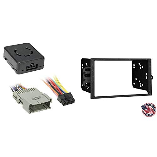 Metra LC-GMRC-01 GM Class 2 Data Bus Interface & Metra Electronics 95-2001 Double DIN Installation Dash Kit for Select 1990-Up GM Vehicles