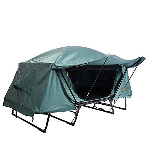 LJJLJJ du Sol Tente Popup, Piquets De Tente Portatifs Tipi, Étanche Et Automatiques,Vert