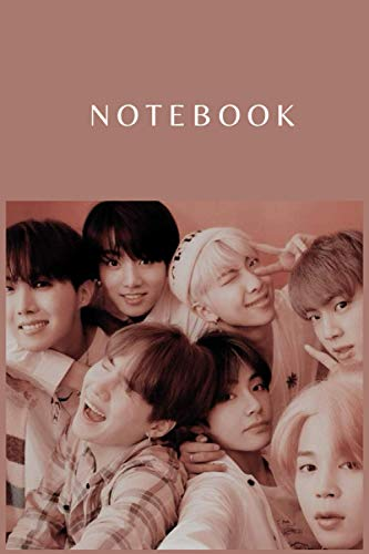 BTS NOTEBOOK : DIARY JOURNAL FOR THE FAN CLUB ARMY: PERFECT FOR GIFT : 6X9 INCHES AND 110 PAGES