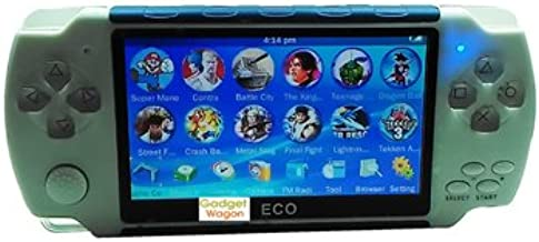 Gadget-Wagon ECO-1 8 GB 4.3 Inches With FM Radio & 1.3 MP Camera (G) 8 GB with Contra, Mario, 10000 Games Inbuilt  (Green)