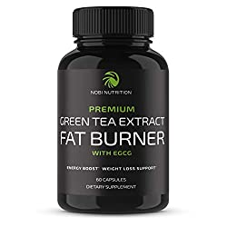 GREEN TEA FAT BURNER FORMULA. Green tea leaf extract is packed with antioxidants and EGCG (epigallocatechin) which support increased energy, stamina and thermogenesis and help curb appetite.* DIGESTIVE METABOLISM BOOSTER. This herbal weight loss and ...