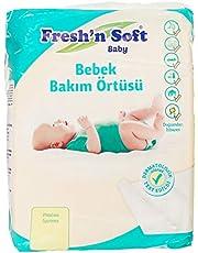 Fresh'n Soft Baby - Bebek Bakım Örtüsü, 10 Adet