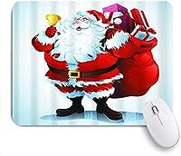マウスパッド 雪だるまのクリスマスを作るかわいい漫画のエルフ ゲーミング オフィス最適 高級感 おしゃれ 防水 耐久性が良い 滑り止めゴム底 ゲーミングなど適用 用ノートブックコンピュータマウスマット