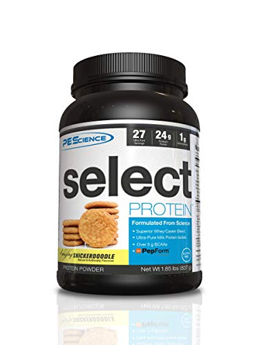 PEScience Select Protein 27 Servings Pre-Workout Mix, Snickerdoodle