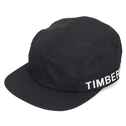 Timberland Gorra 5 Paneles Jacquard Logo Negro - Ajustable