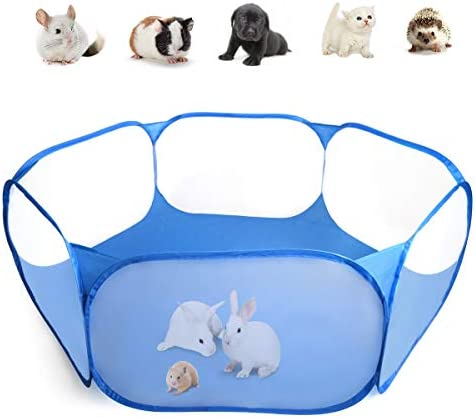 Casifor Guinea Pig Cage Rabbit Cage Indoor with Waterproof Mat Playpen Perfect Size for Small product image