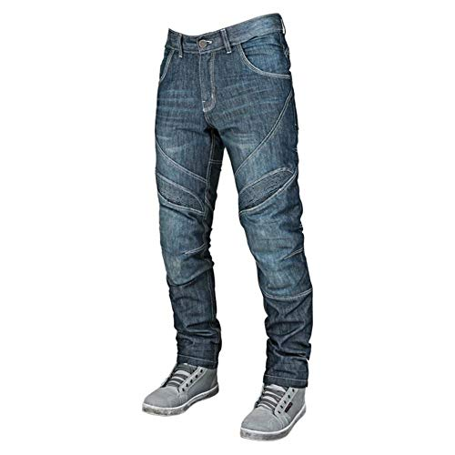 Speed and Strength Rust and Redemption Men's Denim Street Motorcyle Pants - Blue