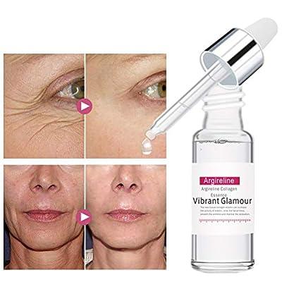 Luckine Argireline Liquid Six Peptide Anti-aging Anti Wrinkle Facial Serum With Hyaluronic Acid Leaves Skin Full & Plump 0.5Floz from Luckine
