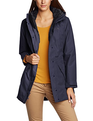 Jack Wolfskin Damen Mantel 5th Avenue , Night Blue , M