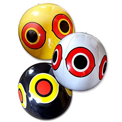 Angst-Eye Vogelwerende Predator Ogen Ballonnen 3 stuks.