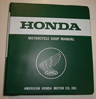 1989 Honda Common Service Repair Shop Manual Motorcycle ATV Scooters BINDER OEM