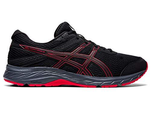 ASICS mens P000606025 Gel-contend® 6 black Size: 5 UK