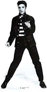 Star Cutouts, Elvis Presley Jailhouse Rock, Life-Size Cardboard Cutout Standup - 70 x 37 inches