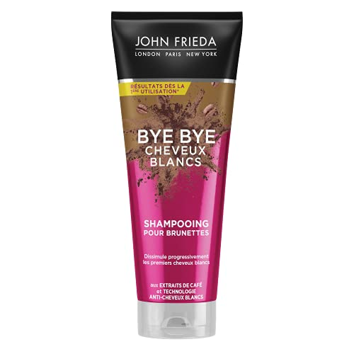 John Frida Bye Bye Cheveux Blancs Shampooing pour...