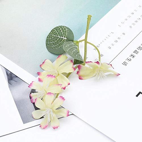 Künstliche Blume 6 Bündel Günstige Seide Hortensie Flores Künstliche Wohnaccessoires DIY Geschenkbox Weihnachtskranz Kunstblumen 1