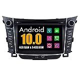 RoverOne 6,95 Pulgadas Android Sistema Autoradio GPS para Hyundai I30 2012 2013 2014 con Sistema de...
