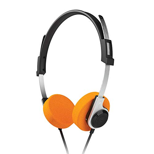 VoltEdge TX20 Game & Go Headset für PS4, PC, Xbox One und Handy, Retro-Stil, leichte Stereo-On-Ear-Kopfhörer