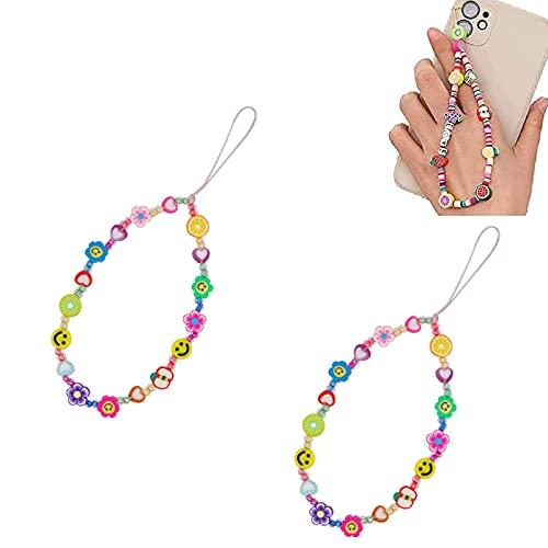 xiaomomo521 Beaded Phone Lanyard Wrist Strap,Women