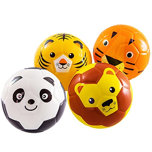 beetoy 4 Stück Softball Kinder Spielball Mini-Fussball für die Kleinsten |...