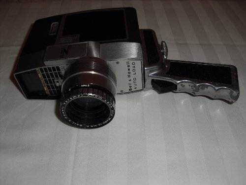Vintage Bell and Howell Zoom Reflex Zoom 8 mm Auto Load Movie Camera