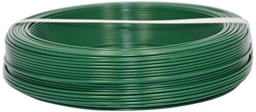 Corderie Italiane 002014072 Filo Ferro Plastica, Verde, 1.8 mm, 100 m