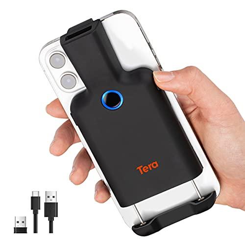 Tera バーコードリーダー 無線 有線 Bluetooth 1d 2d ハンディスキャナー コードレス 手持ち式 バーコードスキャナー 日本語取扱説明書 技適マーク付き 型番8200