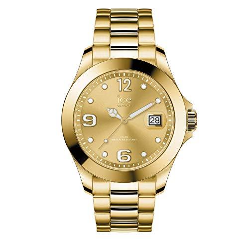 Ice-Watch - ICE steel Gold - Gold Damenuhr mit Metallarmband - 016916 (Medium)