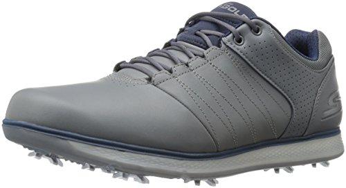 Skechers Skechers Performance Herren Go Golf Pro 2 Golfschuh, Grau (Anthrazit/Marineblau), 45.5 EU