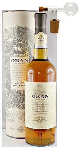 Oban 14 Jahre Single Malt Whisky + 1 Glaskugelportionierer