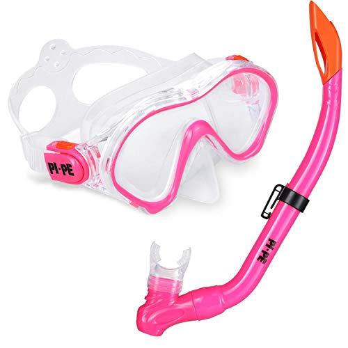 PI-PE Kinder Schnorchelset (pink)