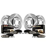 Saab 9-4X Performance Brake Kits - Power Stop KOE5546 Front and Rear Stock Replacement Brake Kit