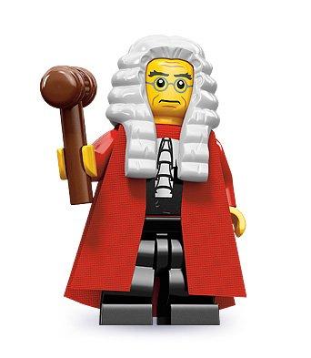 LEGO 71000 - Figura de Juez de la Serie 9