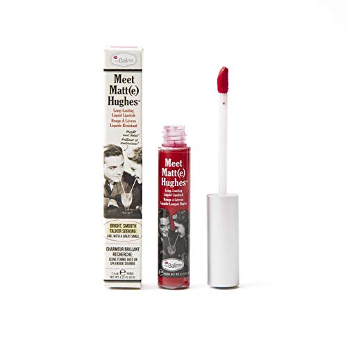 theBalm Lipgloss Meet Matte Hughes, Devoted,1er Pack (1 x 7.4 ml)