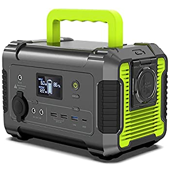 PAXCESS Portable Power Station 200W 230Wh/62400mAh Emergency Backup Lithium Battery 110V Pure Sine Wave AC Outlet QC 3.0 USB-C PD Input/Output Solar Generator for Home/Outdoor Camping Adventure