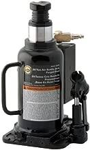 Omega 18204C Black/White Air Actuated Bottle Jack - 20 Ton Capacity