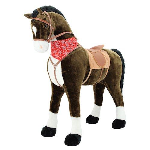 Sweety Toys 9046 Plüsch Pferd XXL Giant Riesen Stehpferd Reitpferd