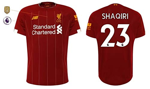 FC Liverpool Trikot Herren 2019-2020 Home PL WC (Shaqiri 23, S)