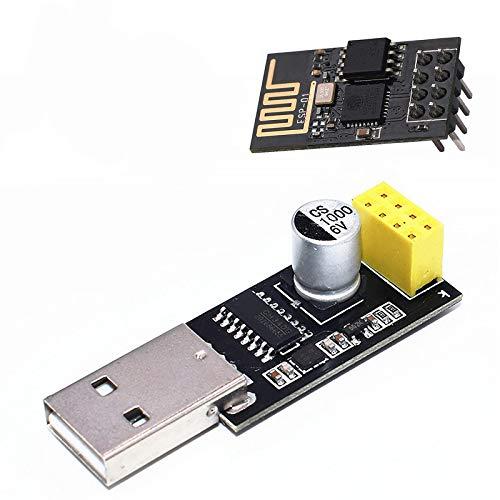 ESP8266 ESP-01 Modulo WiFi con Adattatore USB per Arduino Raspberry Pi