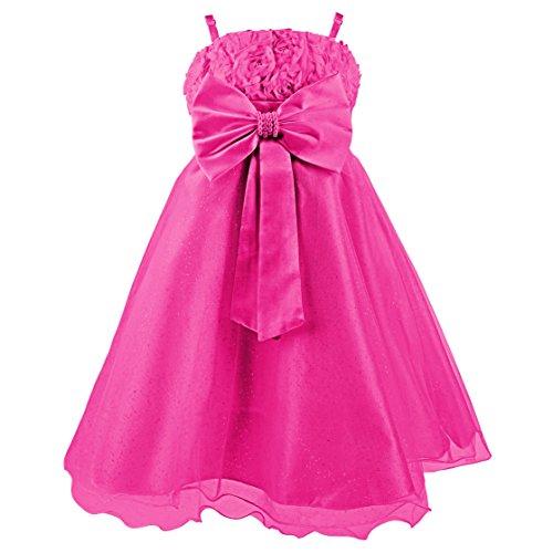 Katara 1716 Sommer-Kleid, Pink, 110/116 (Etikett 8)