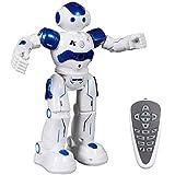 SGILE Robot Giocattolo, RC Control Azione del Sensore di Gesto Robot per Bambini, Robot Giocattolo Intelligente E Programmabile, Regalo di Natale per Bambini