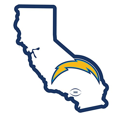 NFL Siskiyou Sports Fan Shop Los Angeles Chargers Home State 11 Inch Magnet One Size Team Color