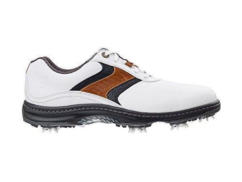 FootJoy 2016 Mens Contour Plain Toe Saddle Golf Shoes, Previous Season Styles (8 D(M) US,...