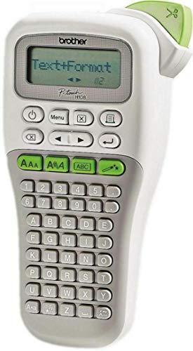 Brother P-Touch H108G Beschriftungsgerät inkl. 4m Schriftband Weiß