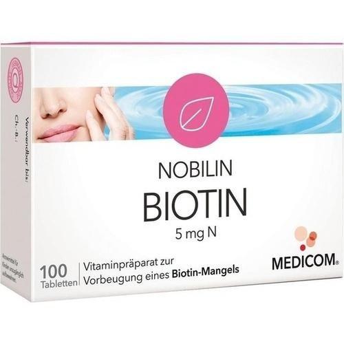 NOBILIN BIOTIN 5MG N 100St 5541640