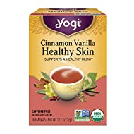 Yogi Tea, Cinnamon Vanilla Healthy Skin, 16 Count